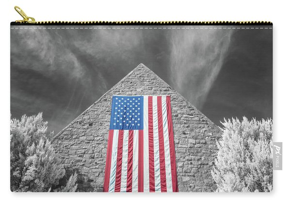 Carry-all Pouch featuring the photograph Military Vision 2 by Brian Hale