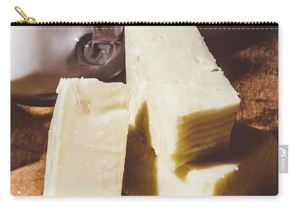 Milk And Cheese Carry-all Pouch