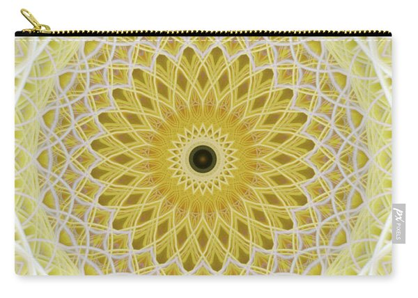 Milk And Honey Mandala Carry-all Pouch