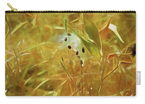 Milkweed In Sunlight 2 Carry-all Pouch