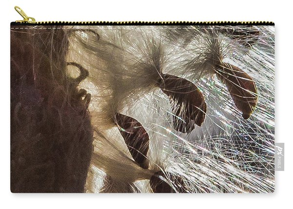 Milkweed Seed Burst Carry-all Pouch