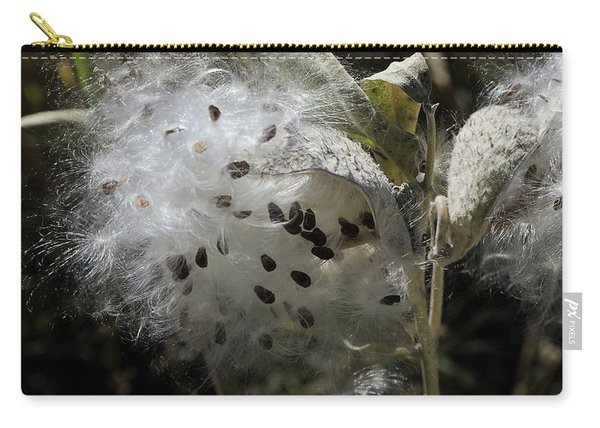 Milkweed Seeds Emerging Carry-all Pouch