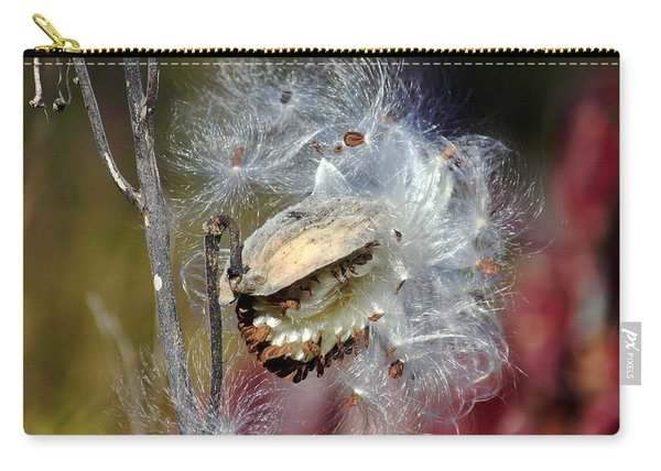Milkweed Silk Carry-all Pouch