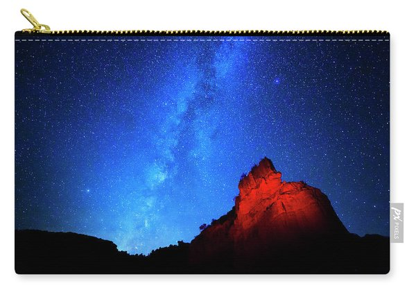 Milky Way And Caprock Carry-all Pouch