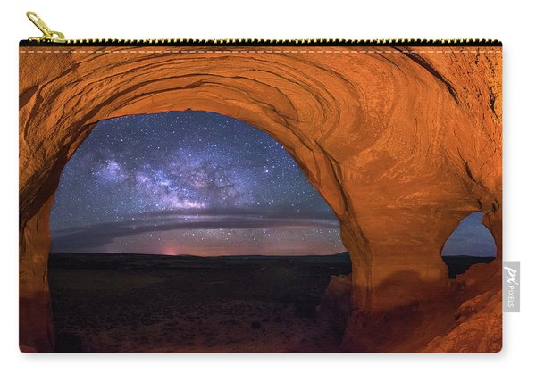 Milky Way At Looking Glass Rock Carry-all Pouch