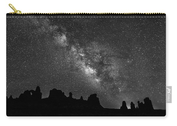 Milky Way At The Windows Carry-all Pouch
