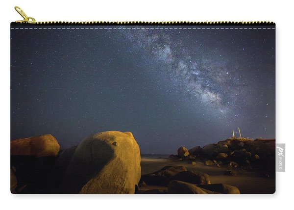 Milky Way On The Beach Carry-all Pouch