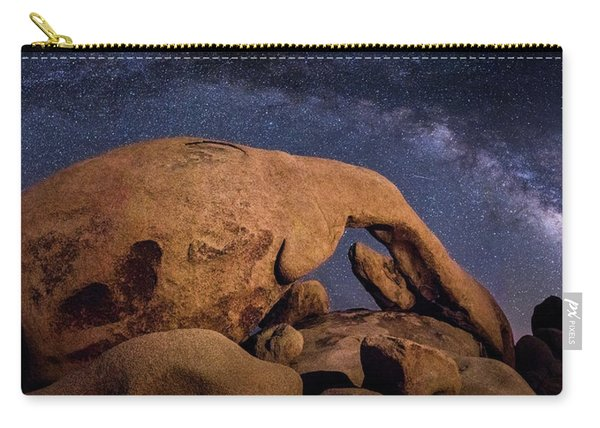 Milky Way Over Arch Rock Carry-all Pouch