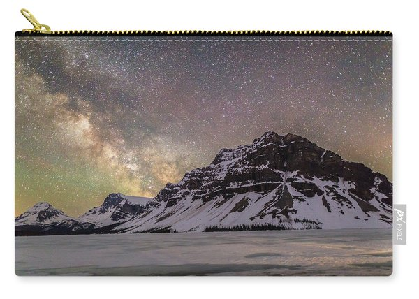Milky Way Over Crowfoot Mountain Carry-all Pouch