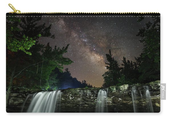 Milky Way Over Falling Waters Carry-all Pouch