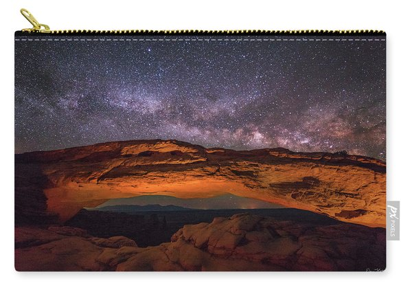 Milky Way Over Mesa Arch Carry-all Pouch