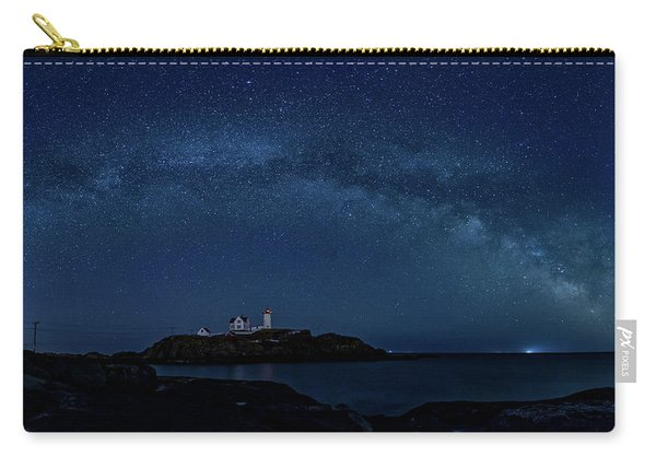 Milky Way Over Nubble Carry-all Pouch
