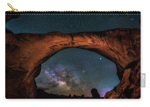 Milky Way Under The Arch Carry-all Pouch