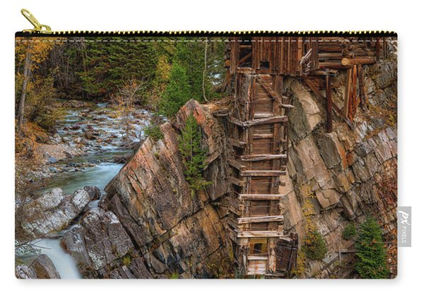 Mill In The Mountains Carry-all Pouch