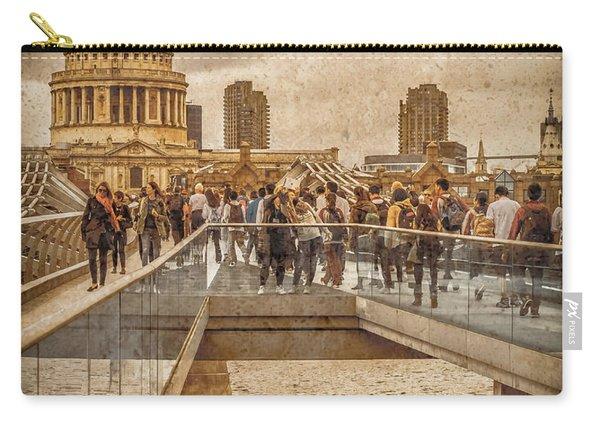 London, England - Millennium Bridge II Carry-all Pouch