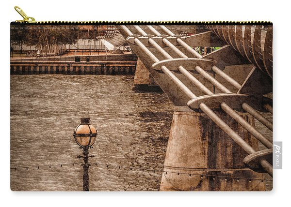 London, England - Millennium Bridge Carry-all Pouch