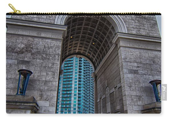 Millennium Gate Triumphal Arch At Atlantic Station In Midtown At Carry-all Pouch