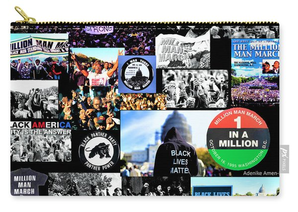 Million Man March Montage Carry-all Pouch