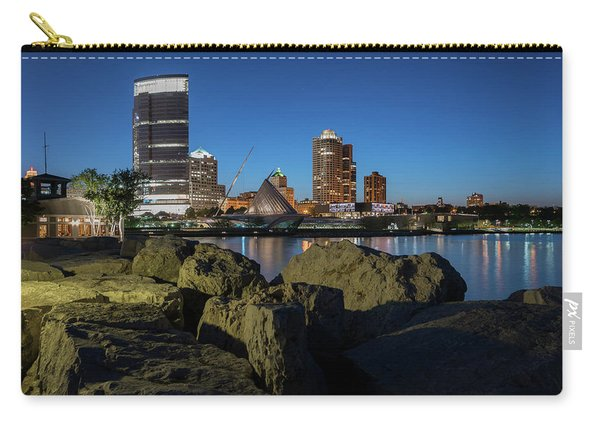 Milwaukee At The Lake Carry-all Pouch