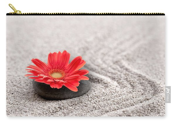 Mineral Flower Carry-all Pouch