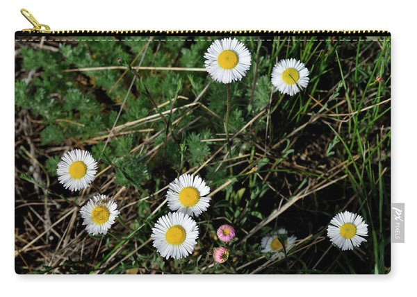 Mini Daisies Carry-all Pouch