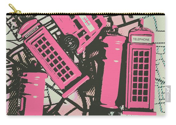 Miniature London Town Carry-all Pouch