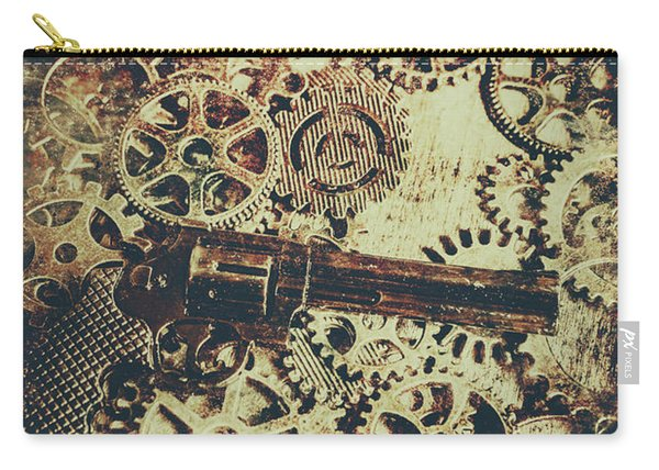 Miniature Old Western Pistol Carry-all Pouch