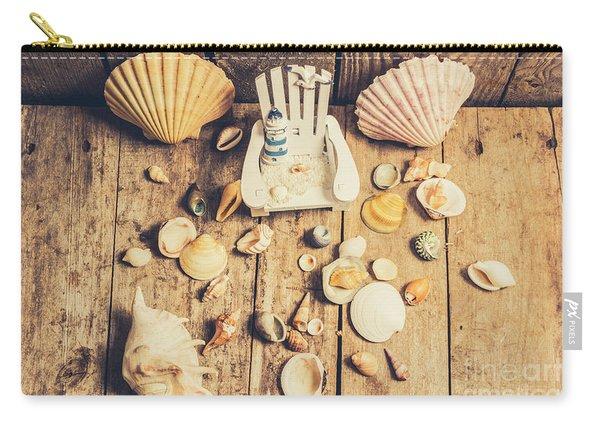 Miniature Sea Escape Carry-all Pouch