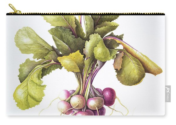Miniature Turnips Carry-all Pouch