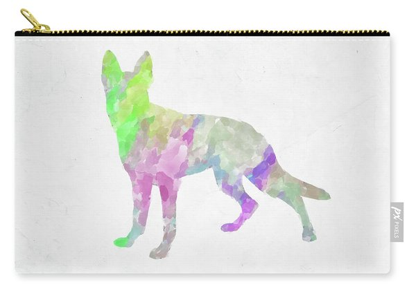 Minimal Abstract Dog Watercolor Vii Carry-all Pouch