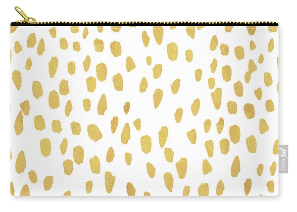 Minimalist Is Gold Carry-all Pouch