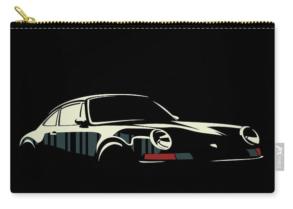 Minimalist Porsche Carry-all Pouch