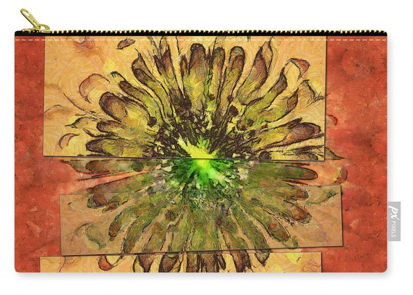 Minimaxes Fabric Flower  Id 16164-054727-17021 Carry-all Pouch