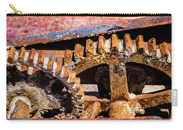 Mining Gears Carry-all Pouch