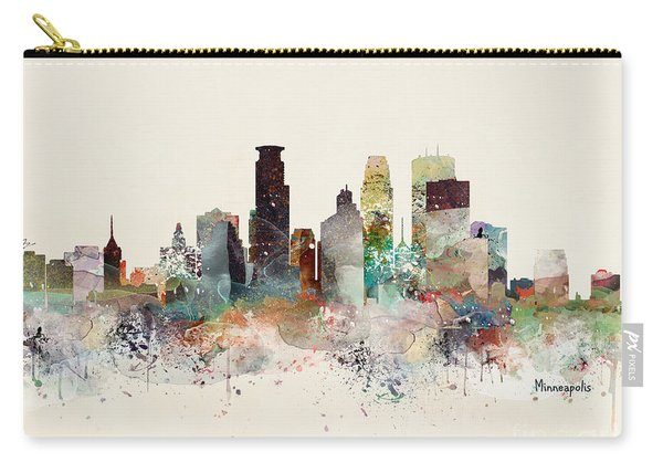 Minneapolis Minnesota Carry-all Pouch