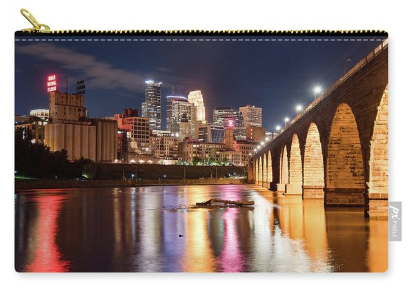 Minneapolis Nights Carry-all Pouch