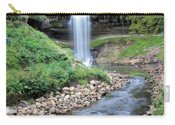Minnehaha Falls Downstream Carry-all Pouch