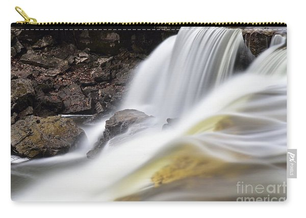Minneopa Falls Closeup Carry-all Pouch