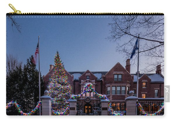 Christmas Lights Series #6 - Minnesota Governor's Mansion Carry-all Pouch