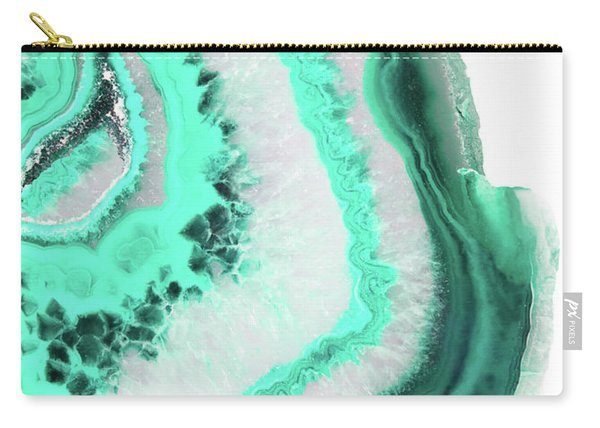 Mint Agate Carry-all Pouch