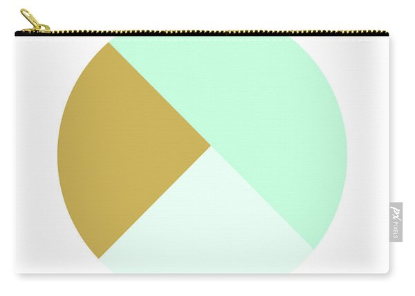 Mint And Gold Ball- By Linda Woods Carry-all Pouch