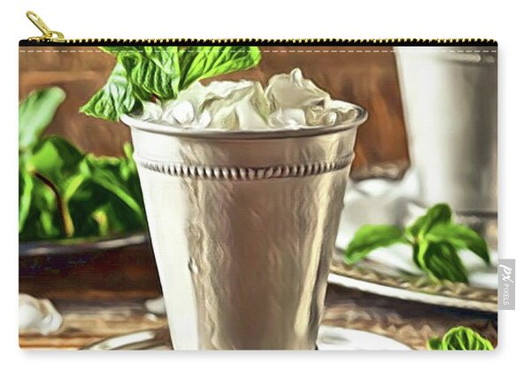 Mint Julep Double Carry-all Pouch