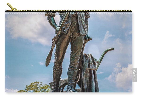 Minuteman Statue Carry-all Pouch
