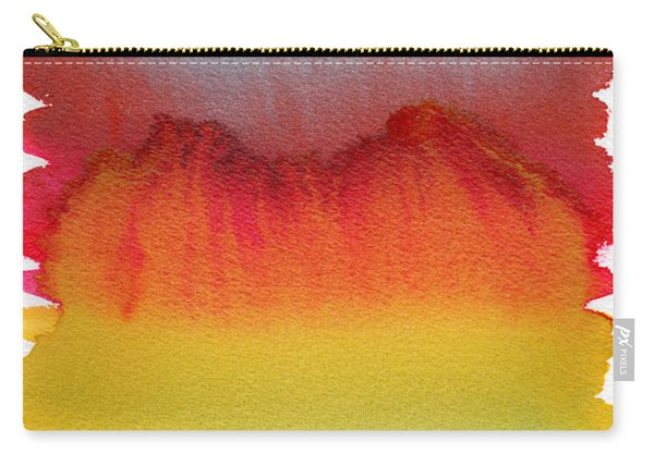 Carry-all Pouch featuring the painting Miraggio by Bee-Bee Deigner