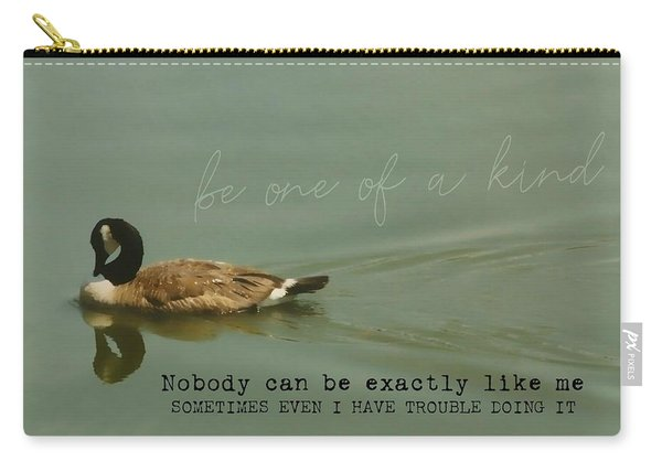 Mirror Image Quote Carry-all Pouch