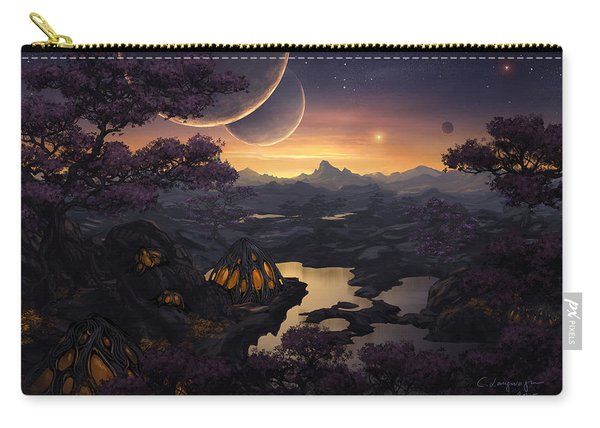 Mirror Lakes Carry-all Pouch