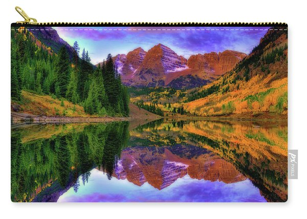 Mirror Of Fall Carry-all Pouch