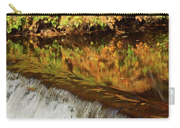 Mirroring Autumn Carry-all Pouch