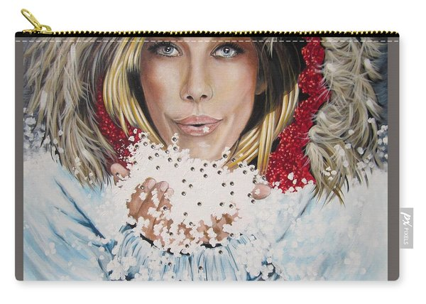 Remarkable Russian Girl.            From The Attitude Girls  Carry-all Pouch