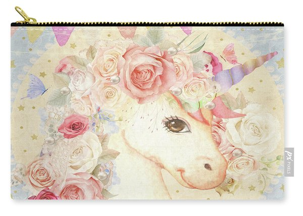 Miss Lolly Unicorn Carry-all Pouch